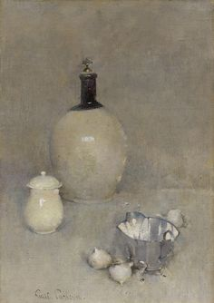 Emil Carlsen Still Life (jug, pot, bottom of kettle), 1920