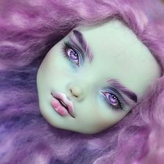 Monster High Customs — caityluu: OOAK Monster High Doll Repaint and. Custom Monster High Dolls, Monster High Repaint, Custom Dolls, Doll Eyes, Doll Face, Ooak Dolls, Art Dolls, Bjd, Doll Painting
