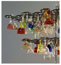 nebu-close-up of a vintage glass chandelier