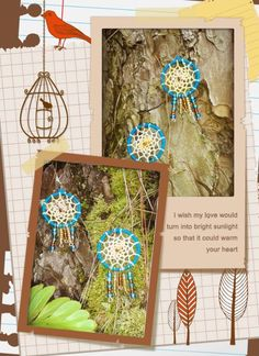 dream catcher earrings Dream Catcher Earrings, Your Heart, Eye, My Love, Frame, Jewelry, Home Decor, Picture Frame, Jewellery Making