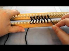 (2) How To Use Two Strands of Yarn To Design Using Figure 8 Stitch - YouTube