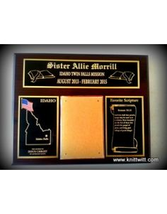 Idaho Mission, Riverton 16th Ward, LDS Missionary Plaques - Use Code FS2013 for Free Shipping :-) Fhe Lessons, Lds Temples, Lds Quotes, Idaho, Lds Missionaries, Lds Mormon, Coding, Sayings, Texas