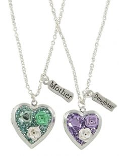 Mother & Daughter Locket Necklaces | Justice