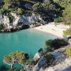 Cala Macarelleta / Spain from @rachelweider
