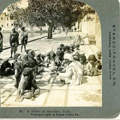 Speechless...gorgeous picture from around 1908 in Amritsar,Punjab India... Wow..what a great way they captured one moment in many lives..through the camera..