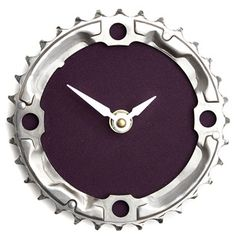 Bicycle Chain Ring Clock - Tread and Pedals