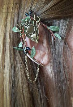 Elven Ohr Manschette Elfen Ohrring Elven Ear Elf Ear von Ayalga
