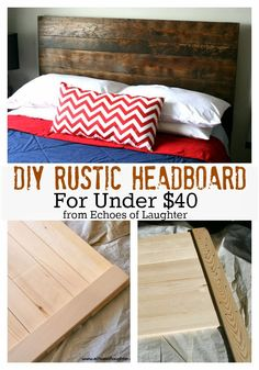 Echoes of Laughter: DIY Headboard For Under $40