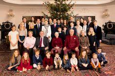 I 2014 fejrede Regentparret, Kronprinsparret og D.K.H. Prins Joachim og Prinsesse Marie med børn jul på Fredensborg Slot. Derudover deltog også H.K.H. Prinsesse Benedikte samt D.M. Dronning Anne-Marie og Kong Konstantin med familier.