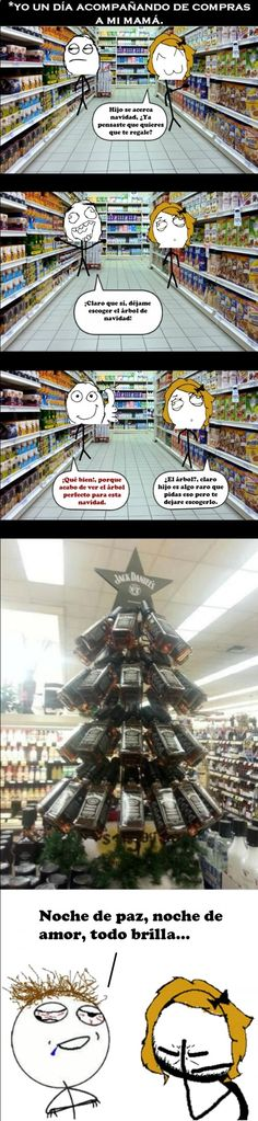 #Navidad #humor en español. ➧ http://www.diverint.com/memes-imagenes-graciosas-espanol-vegano-vuelve-zombie