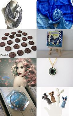 Somethings blue by B H on Etsy--Pinned with TreasuryPin.com