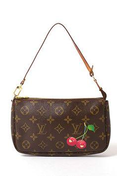 Louis Vuitton  Accessory Pouch In Monogram Cherry