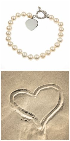 Looking for special finishing touches to your beach wedding ensemble? Check out the Thomas Laine website for fantastic bridal jewelry ideas! #beachwedding #bridaljewelry #pearljewelry