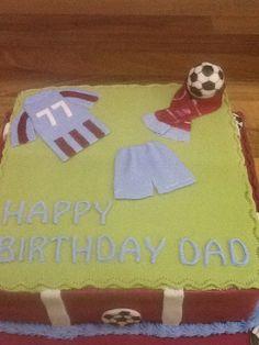 Scunthorpe United surprise cake :)