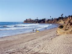 Tourmaline Beach in Pacific Beach, San Diego
