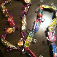 Candy Leis for Kindergarten Graduation
