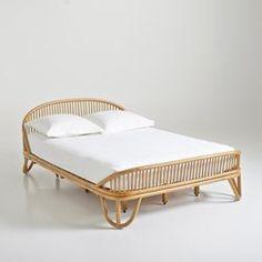 Bed in rotan, Malu La Redoute Interieurs - Volwassen slaapkamer