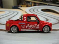 mini pick up slot car