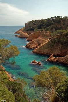 Sant Feliu de Guíxols. Costa Brava. The name Costa Brava was used for the fist time by catalan journalist  Ferran Agulló  in La Veu de Catalunya on the 12th September, 1908. Photo Sete Garcia