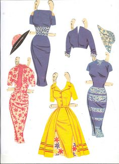Fashions for the Modern Miss 1957 Saalfield #2766 m - Bobe - Álbumes web de Picasa