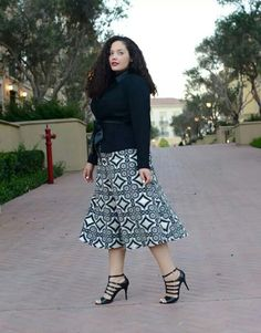 Tanesha awasthi lane bryant look you look skinny or less fat with this look love it