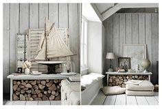 Cottage of Paul Masseya photographer and regular contributor to Living Etc UK. #photographer #home #decor #sea #rustic #white