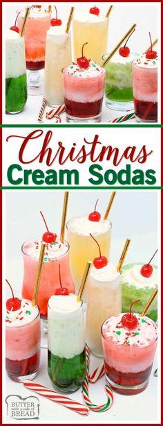Christmas Cream Sodas