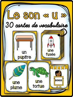 Learning French or any other foreign language require methodology, perseverance and love. In this article, you are going to discover a unique learn French method. Travel To Paris Flight and learn. Read In French, French Class, Learn French, French Verbs, French Phrases, Preschool Literacy, Classroom Activities, Grade 1 Reading, French Flashcards