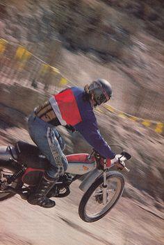 Honda Dirt Bike, Honda Bikes, Dirt Biking, Classic Honda Motorcycles, Harley Davidson Motorcycles, Vintage Biker, Vintage Motocross, 2 Stroke Dirt Bike, Girly Man