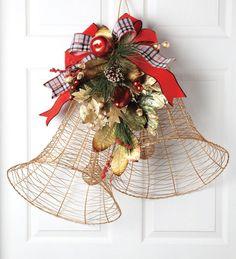 Holiday Bells Door Ornament