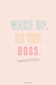 Make your own hours. Be your own boss. Become a Mary Kay Independent Beauty Consultant and help define your own business and success.