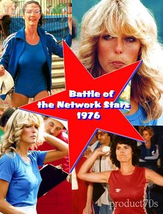 Battle of the Network Pop culture GOLD! Stars seemed loyal to their network and would go to great lengths to jiggle for their home team. A young boys favorite TV event of the year. Great Tv Shows, Old Tv Shows, 70s Kids Shows, Retro Images, Farrah Fawcett, Classic Tv, Music Tv, The Good Old Days, Best Tv