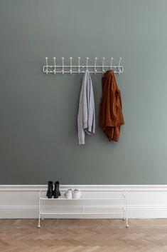 Bill Horizontal Knaggrekke L, Hvit - Maze @ Bathroom Hooks, Bathroom Bill, Big Family, Settee, Building A House, Shelves, Abundance, Interior, Towels