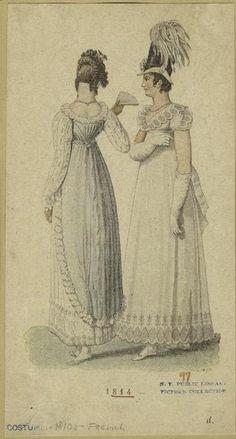 Deux robes, 1814.
