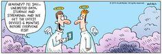 """Heavenly deal...   - """"Eek!"""" by Scott Nickel;  5/20/15"""