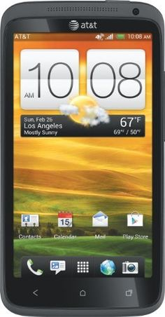 HTC One X 4G Android Phone, Gray (AT) by HTC,