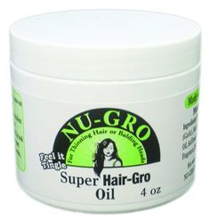 Nu-Gro Super Hair-Gro Oil 4 Oz *** Click image for more details.