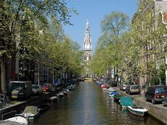 Lovely canals of Amsterdam