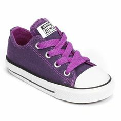 Kid's Converse All Star Shoes Purple Tennis Shoes, Converse Tennis Shoes, Toddler Converse, Baby Converse, Toddler Girl Shoes, Girls Shoes, Toddler Girls, Converse Chuck Taylor All Star, Converse All Star