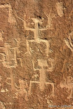 Petroglyph, Chaco Canyon, New Mexico