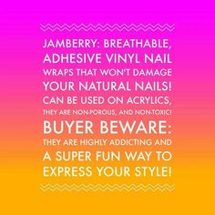 What is Jamberry??!! Check out my facebook page like it and if you want a FREE sample comment below!