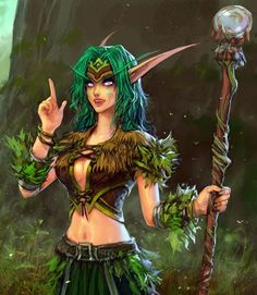 Night elf druid #wow