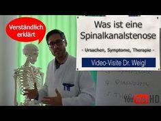 Spinalkanalstenose  Ursachen Symptome und Therapie (Übungen und Operation)
