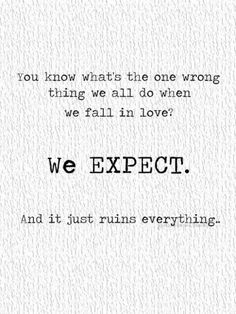 we're better in expecting