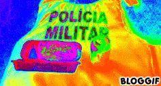 GCM NEWS BRASIL: POLICIAIS que fazem a segurança na Copa recebem ho...
