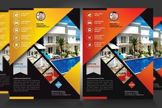 Real Estate / New Listing Flyer V1 by Satgur Design Studio on @creativemarket