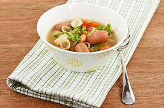 Nakkikeitto Cantaloupe, Pasta, Fruit, Ethnic Recipes, Soups, Food, Egg, Chowders, Soup