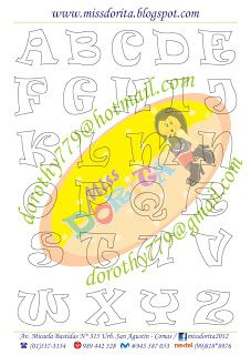 Miss Dorita: Abecedarios Alphabet Art, Alphabet And Numbers, Lettering Design, Hand Lettering, Diy And Crafts, Paper Crafts, Stencils, Sewing Projects, Clip Art