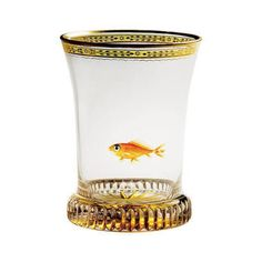 Biedermeier glass - designed by Anton Kothgasser, c. 1820.  Eternally charming...