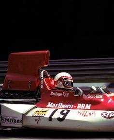Clay Regazzoni, BRM P160E, 1973 Italian Grand Prix, Monza.